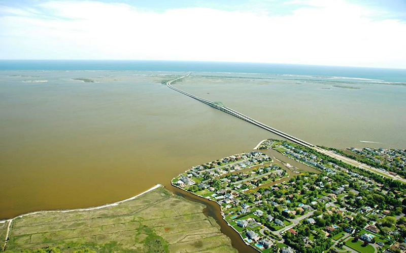 The Great South Bay is one of the water bodies monitored by the Long Island Marine Monitoring Network.