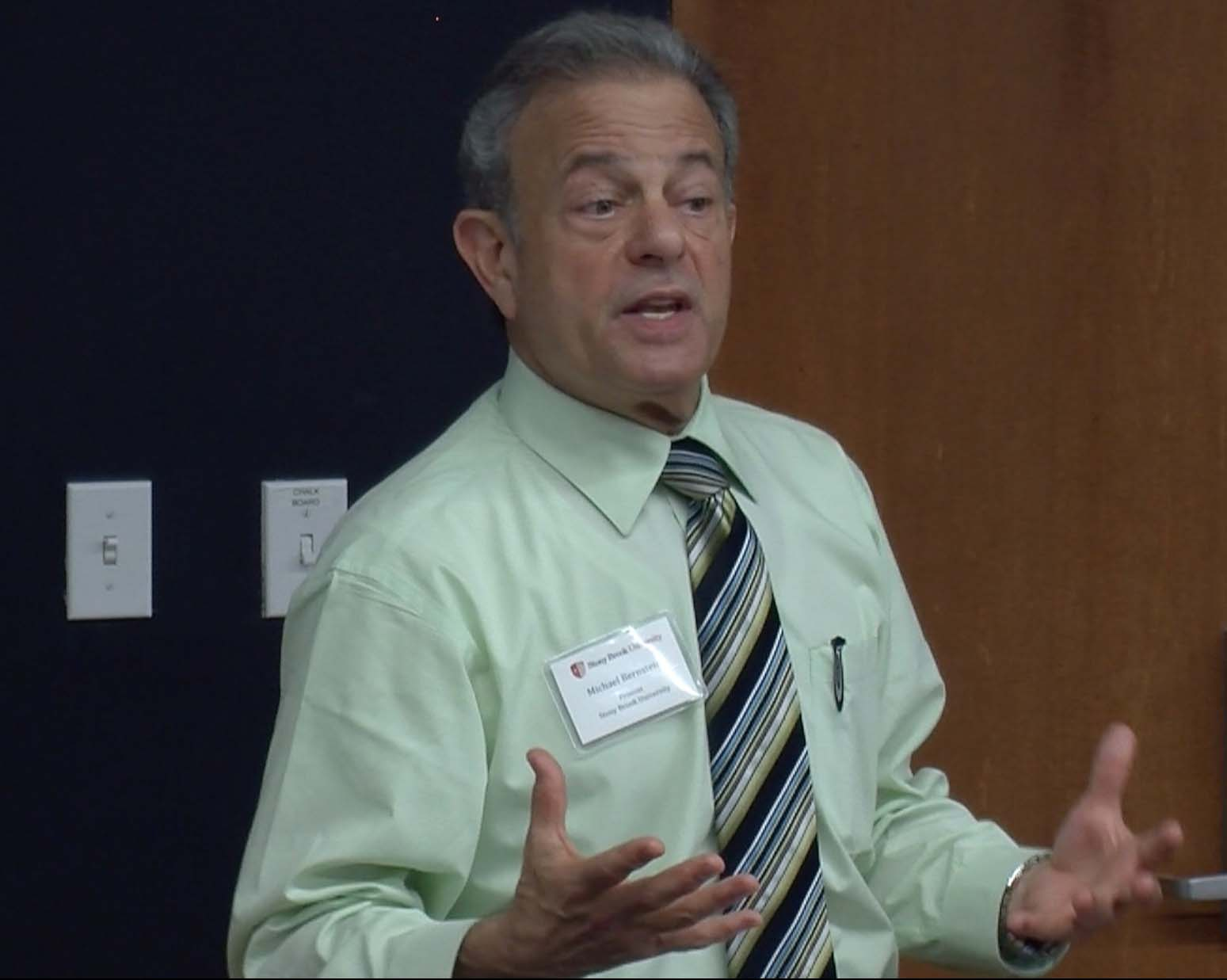 Stony Brook University Provost Michael Bernstein