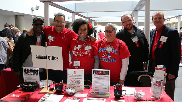 Alumni Volunteers during Admitted Student Day