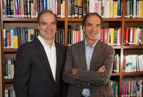 (Left to Right) Vincent and Stephen Della Pietra