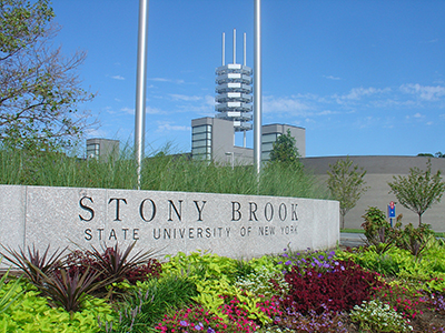 Stony Brook, NY; Stony Brook University: Entrance