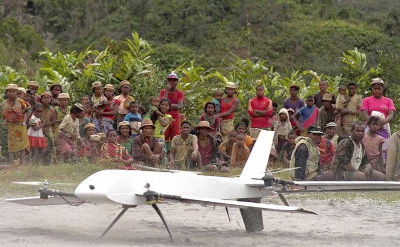 drones in Madagascar