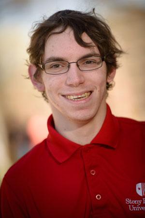 Eric Engoron '15 (Photo: Sam Levitan)