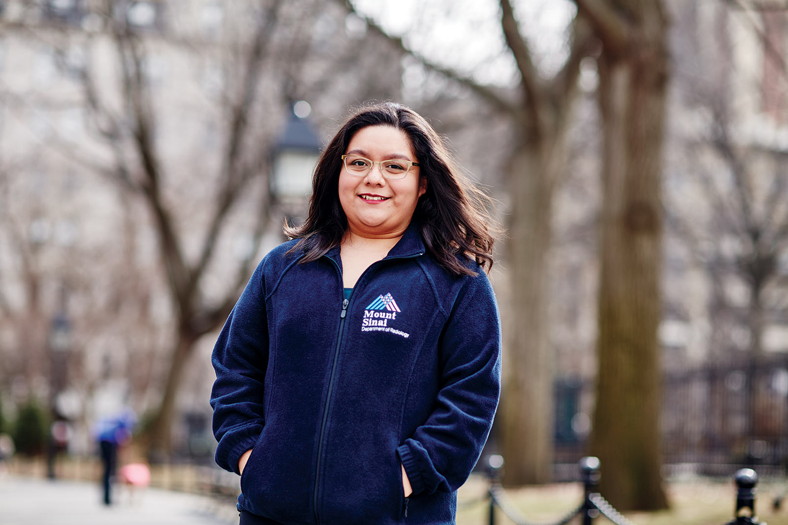Arely Clavel '14 went on to a medical physics program at Columbia University and now works at Mount Sinai Hospital in Manhattan.