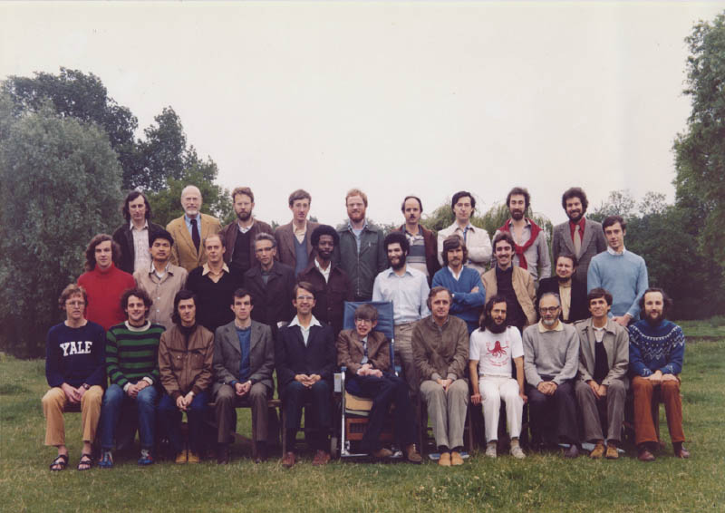 Hawking and team