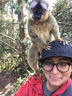 Michelle in Madagascar