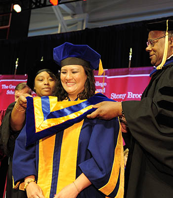 Image for the story Nina Maung-Gaona: Supporting Stony Brook's Research Enterprise