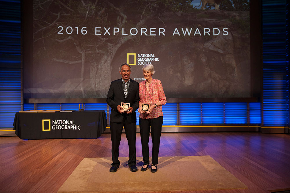 Meave Leakey Awarded Hubbard Medal National Geographic Societys