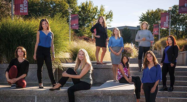 Women's Leadership Council mentees