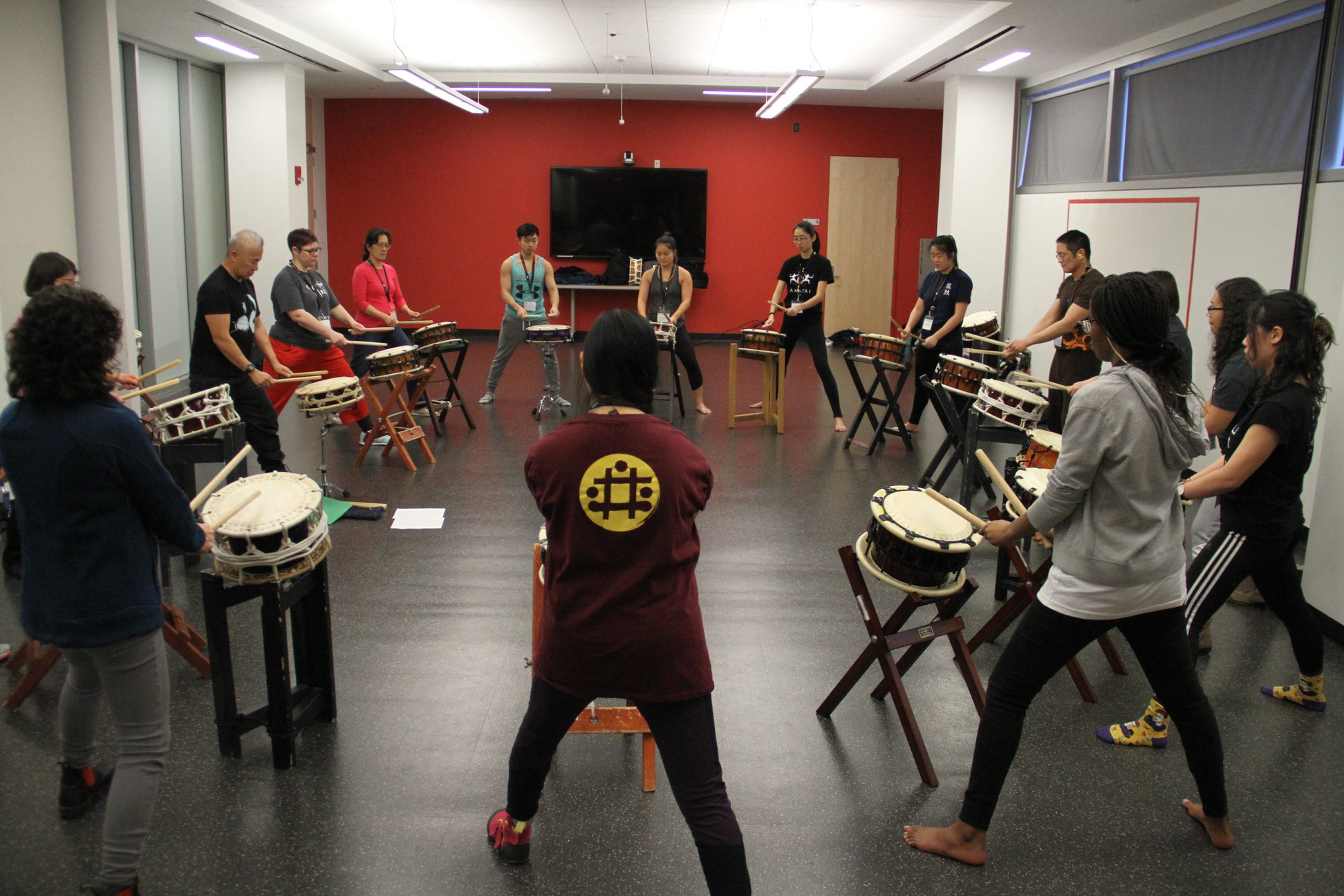 Student group Taiko Tides welcomed drum groups from across the country as Stony Brook University hosted the 2018 East Coast Taiko Conference (ECTC), February 9 through February 11.