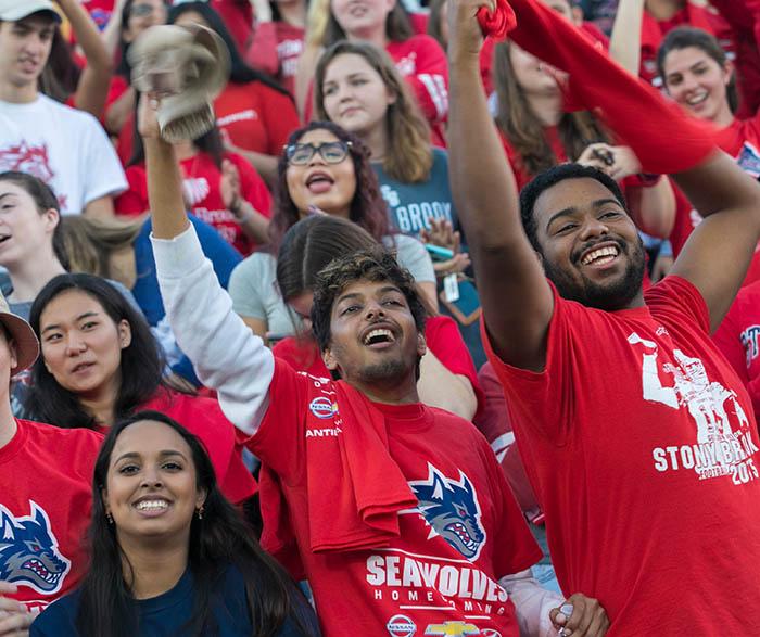 Stony Brook students