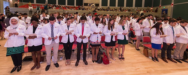 128 New Students Launch Journey into Medicine - Stony Brook