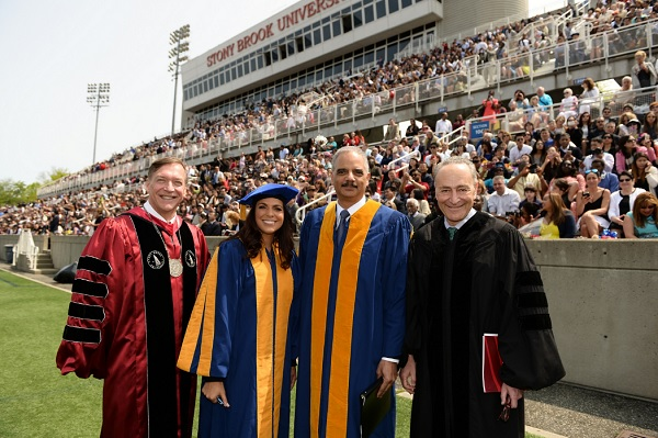 Stony Brook Celebrates 56th Commencement Ceremony Stony