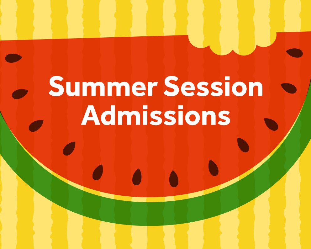 Summer Session Admissions